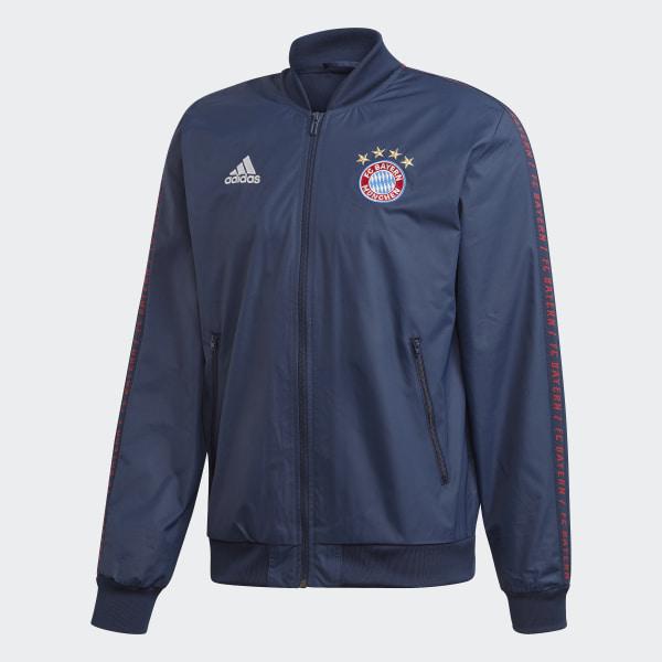 ADIDAS Herren Jacke FC Bayern München Anthem
