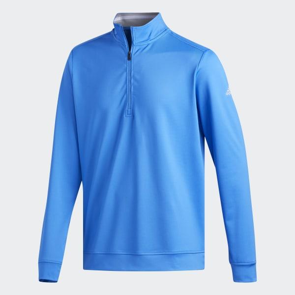 adidas Classic Club 14 Zip Sweatshirt Blue   adidas US