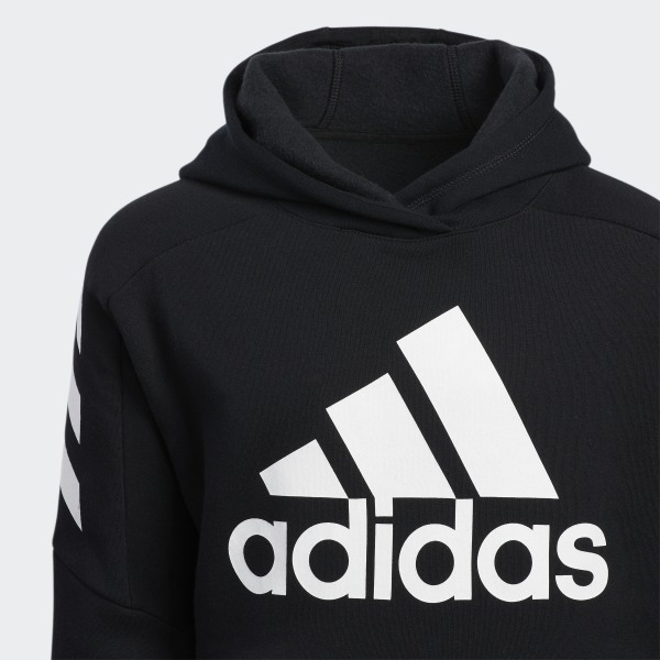finest selection 74289 5148a adidas Block Pullover Hoodie - Black | adidas US