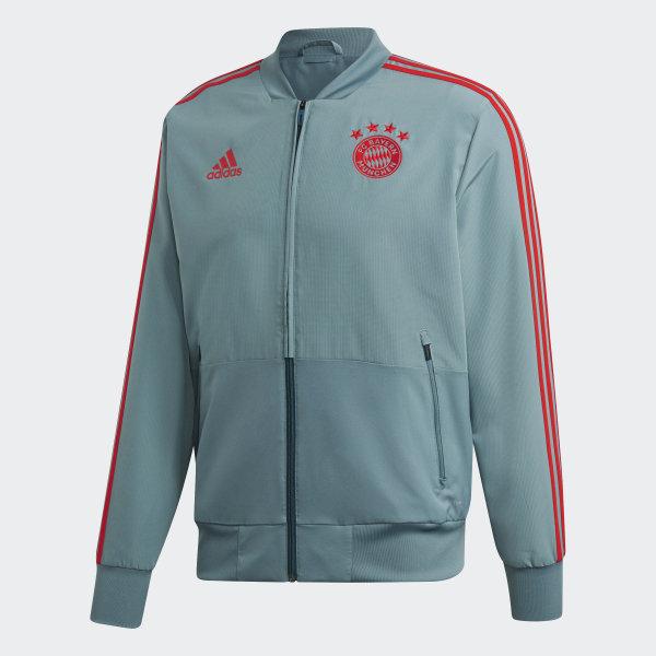 Veste de présentation FC Bayern Vert adidas   adidas Switzerland