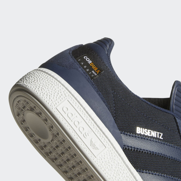 Casual Shoes   adidas Mens Busenitz White Suede & Cordura Canvas Shoes White ~ LeelaClarke