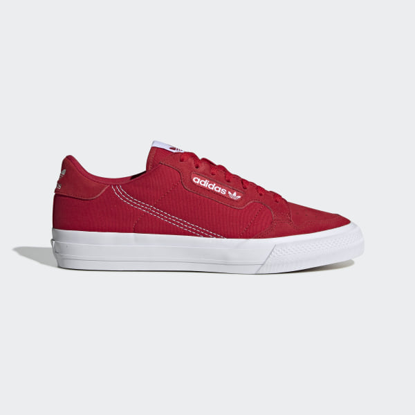 Chaussure Continental Vulc - Rouge adidas | adidas France