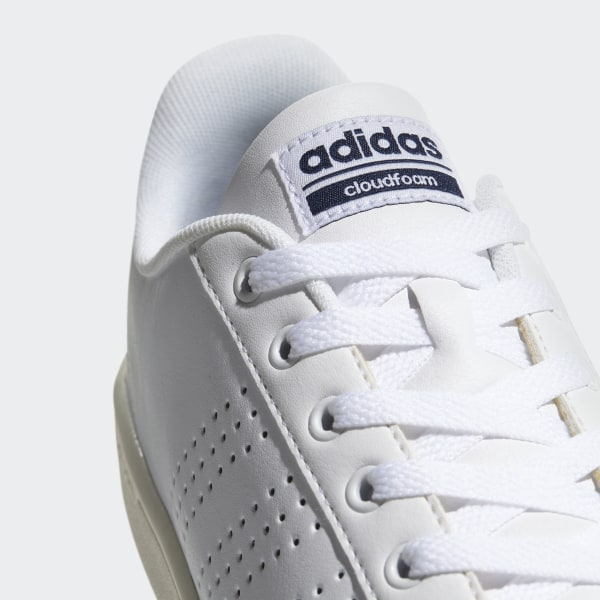 adidas Cloudfoam Advantage Clean Shoes White | adidas Australia