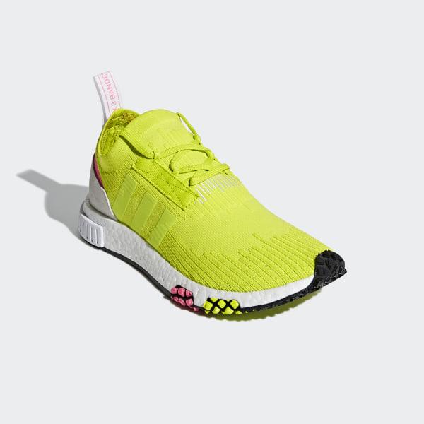 Deutschland Gelbadidas adidas Racer NMD Primeknit Schuh IeH2b9EWDY