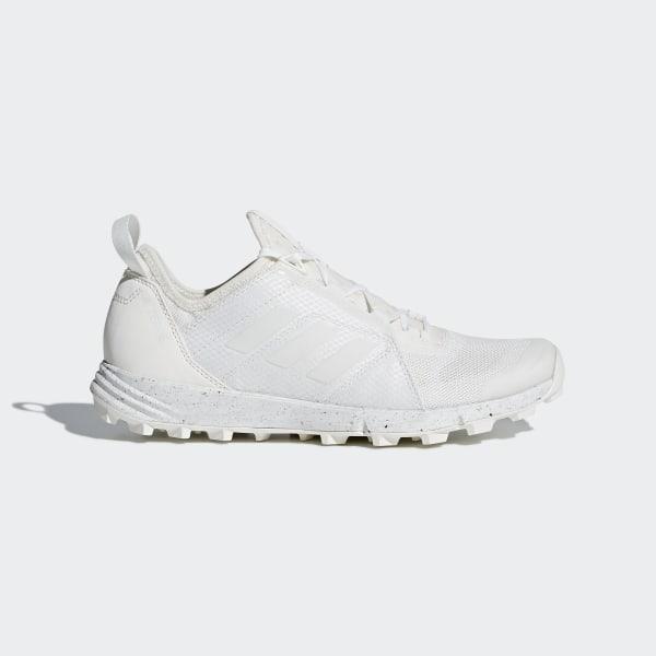 Adidas Terrex Agravic Speed Trail Running Shoes, UK 7 BlackWhite