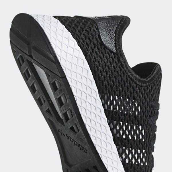 Details zu Adidas Deerupt Runner Schuhe Originals Freizeit Sport Sneaker black white BD7890