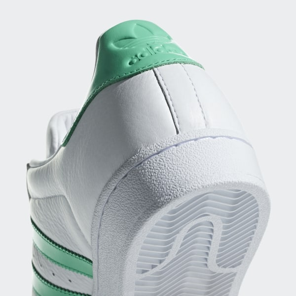 2019 adidas Superstar Hi Res Green B41995