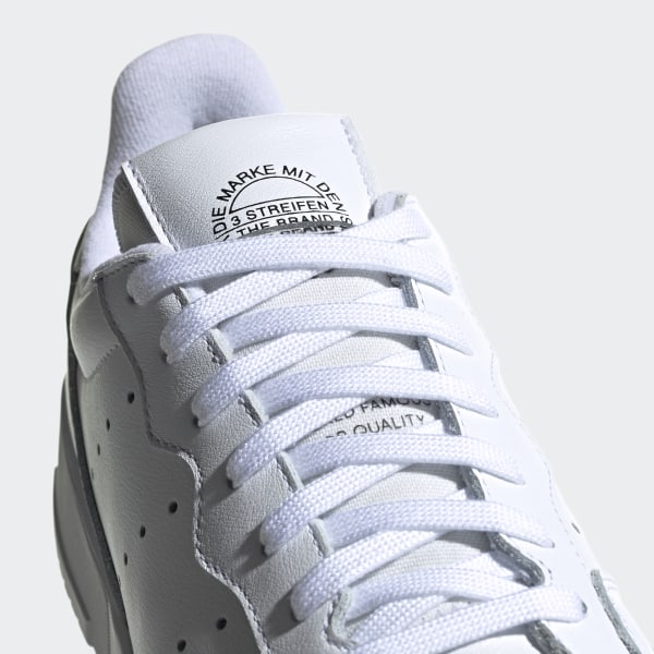 Supercourt Shoes Cloud White / Cloud White / Core Black EE6037