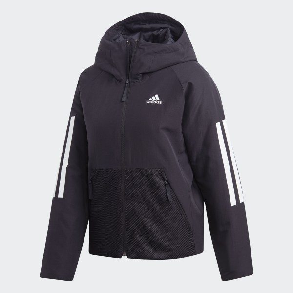 Veste Back to Sports 3 Stripes Hooded Insulated