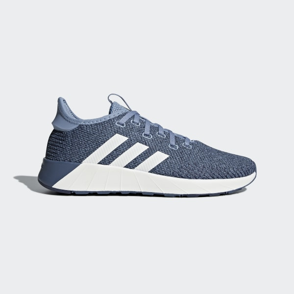 on feet images of free shipping better adidas Questar X BYD Shoes - Blue | adidas UK