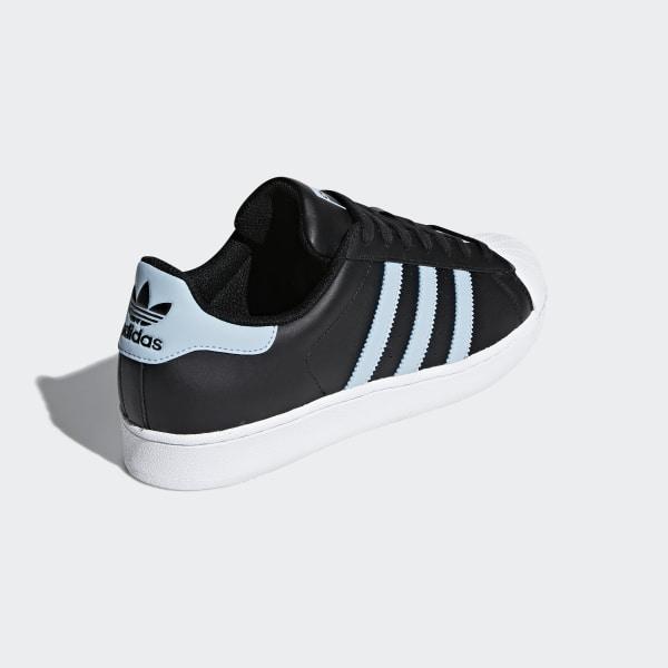 adidas superstar black white grey