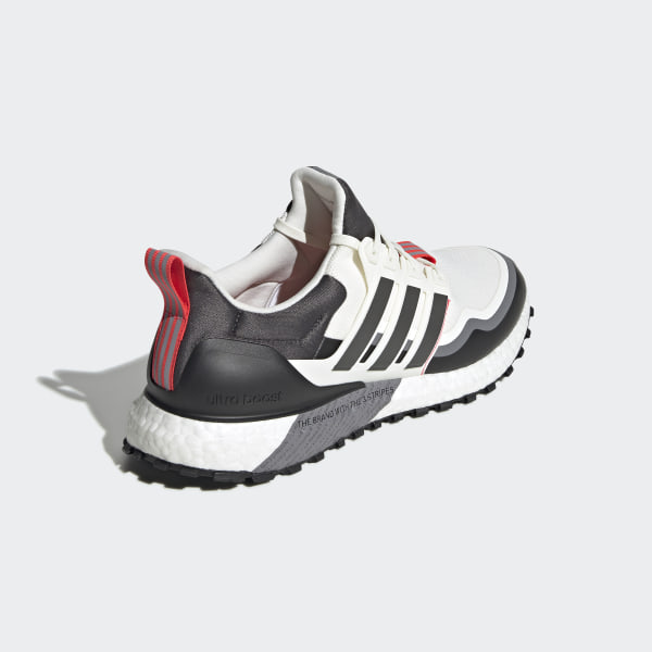 Absolutely Adidas Running Shoes Ultra Boost Dark Red White