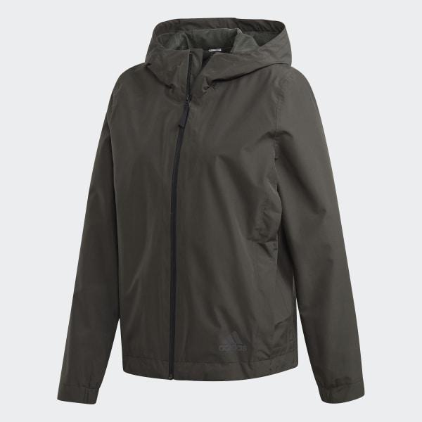 Veste de pluie Climaproof Vert adidas | adidas Switzerland