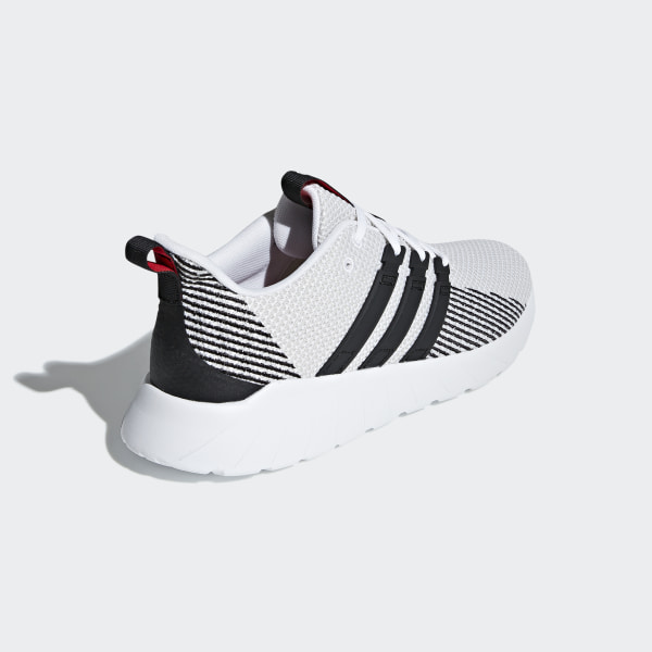 Mens on feet adidas questar boost navy white sneakers,adidas