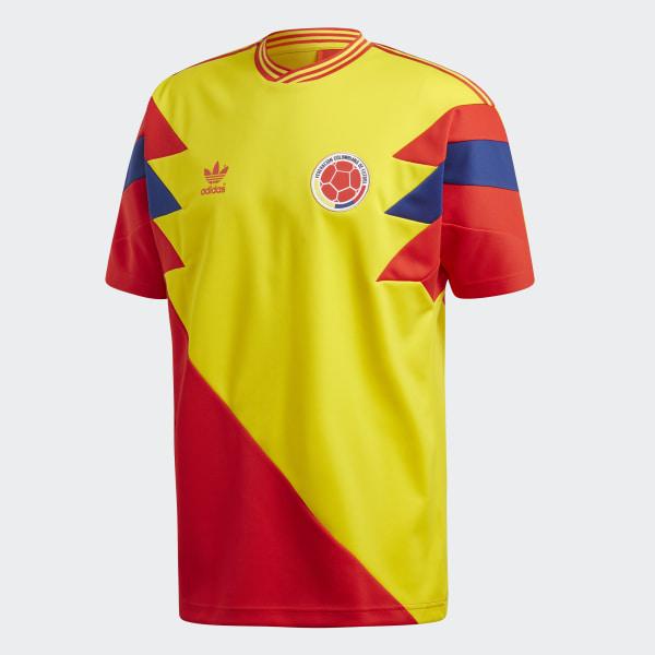 adidas Colombia Mash Up Jersey Yellow | adidas US