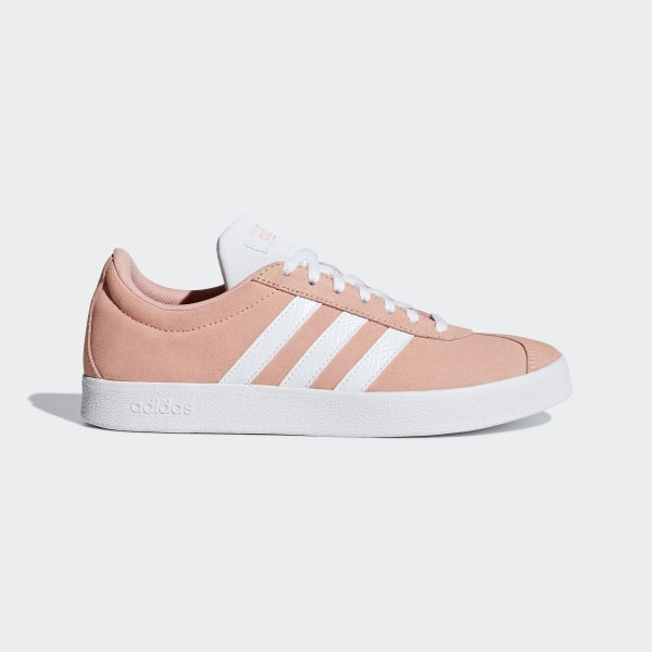 adidas VL Court 2.0 Shoes Pink | adidas US