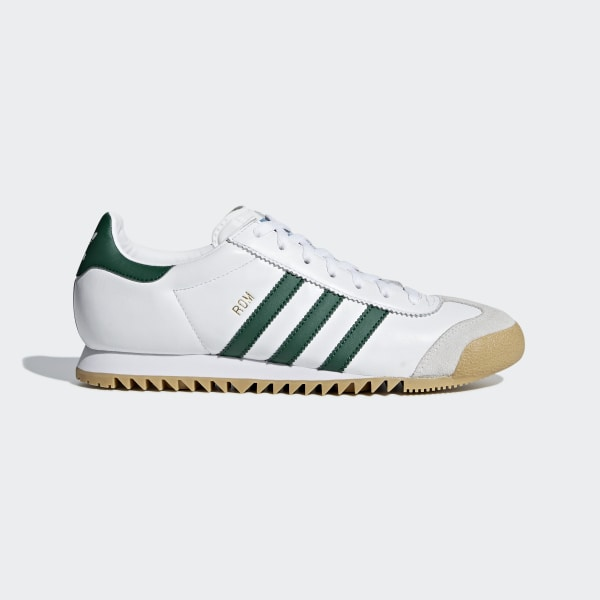 on feet images of latest new cheap Chaussure Rom - Blanc adidas | adidas France