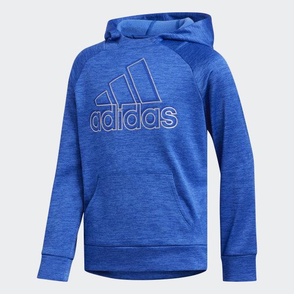adidas fleece blue