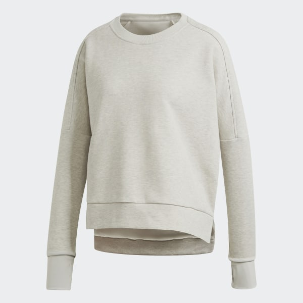 adidas Must Haves Versatility Crew sweatshirt Grå | adidas Denmark