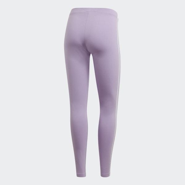 Legging 3 Stripes Violet adidas   adidas France