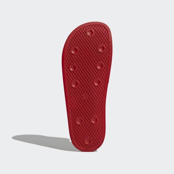 adidas Originals 288193 Slipper Herren rot rot Schuhe