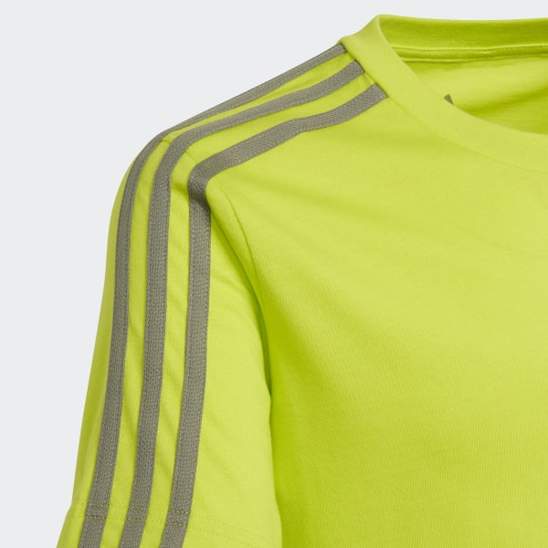 T shirt Essentials 3 Stripes Verde adidas | adidas Italia