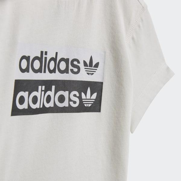 adidas R.Y.V. Shorts und T Shirt Set Weiß   adidas Deutschland