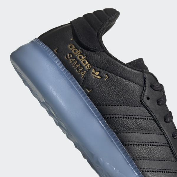 Basketball Skor Adidas Superstar II TL Svart Svart gold