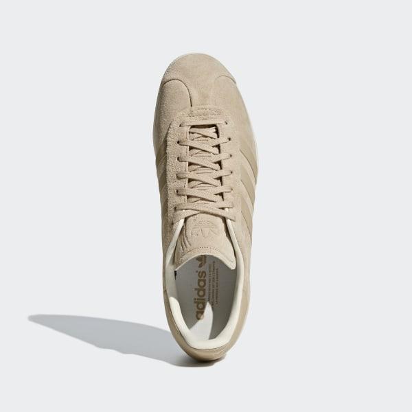 adidas Buty Gazelle Stitch and Turn Beżowy   adidas Poland