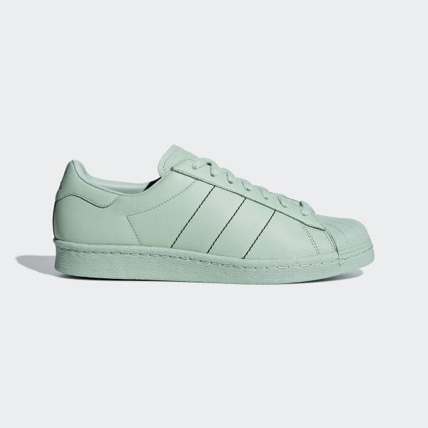 adidas Superstar 80s Shoes Green | adidas UK