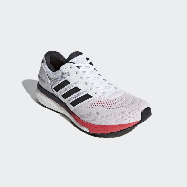 adidas Adizero Boston 7 Shoes - White | adidas US