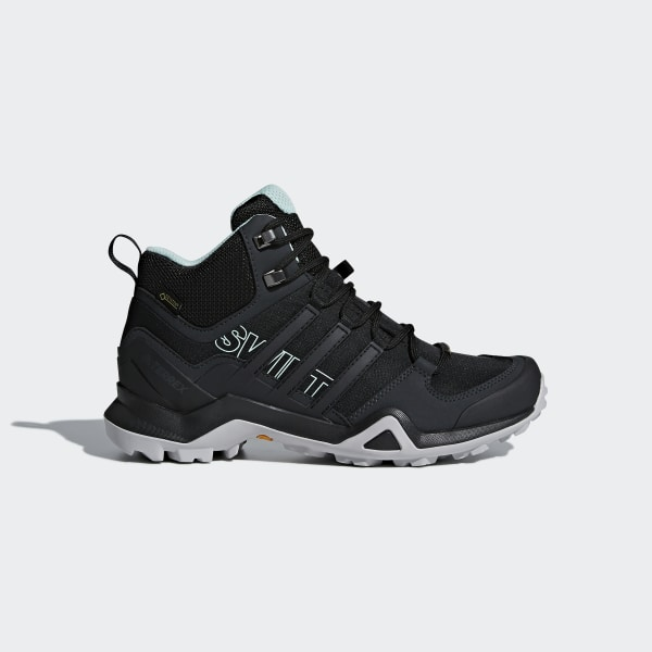adidas Terrex Swift R2 Mid GORE-TEX Hiking Shoes - Black | adidas US