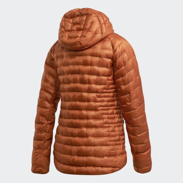 adidas M TERREX CLIMAHEAT JACKET, Tech Copper