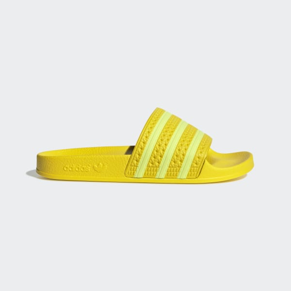 adidas Adilette Badslippers - Geel | adidas Officiële Shop