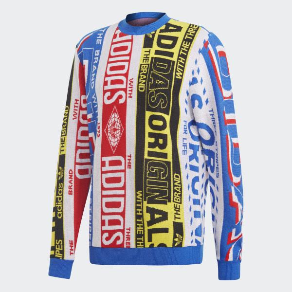 adidas Damen Crew Sweatshirt: : Sport & Freizeit