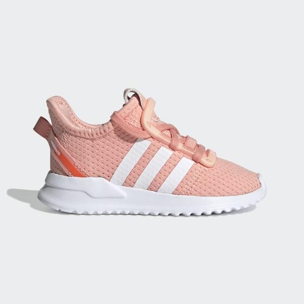 U_Path Run Schoenen Glow Pink / Cloud White / Hi-Res Coral EE7442