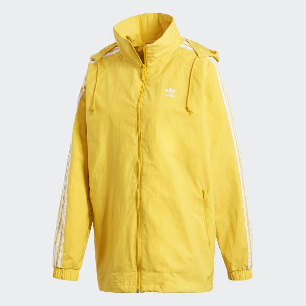 adidas Stadium Jacket Yellow | adidas US