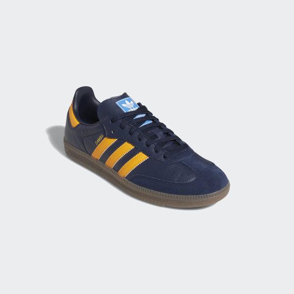 adidas samba yellow grey