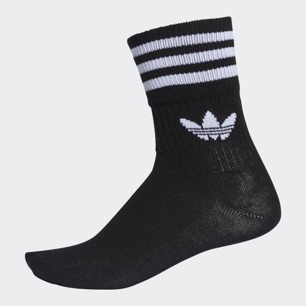 Chaussettes mi mollet Mid Cut (3 paires) Noir adidas   adidas France