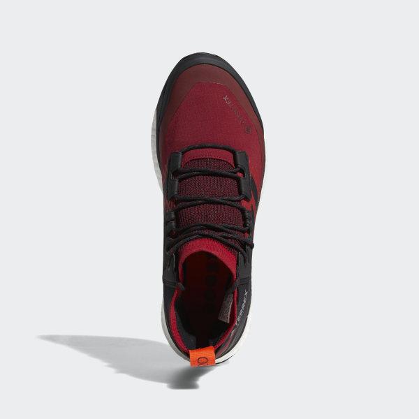 adidas Terrex Free Hiker GORE TEX Hiking Shoes Burgundy | adidas US