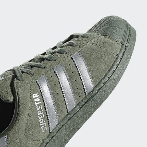 adidas superstar colours khaki