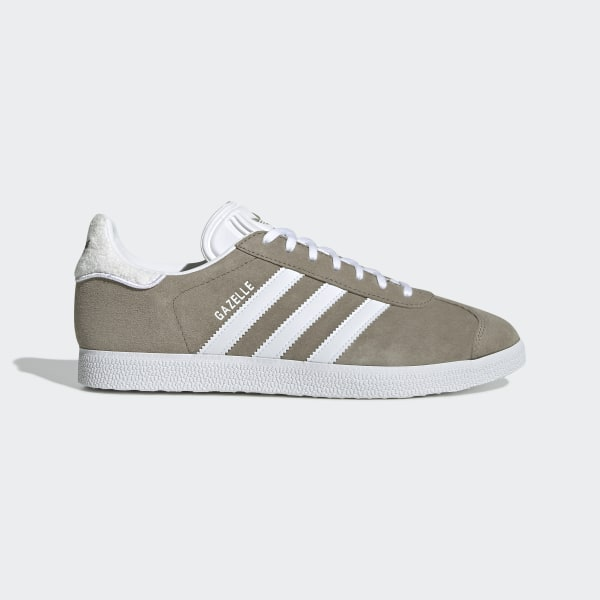 Adidas Gazelle Womens Shoes In Khaki White   Adidas shoes
