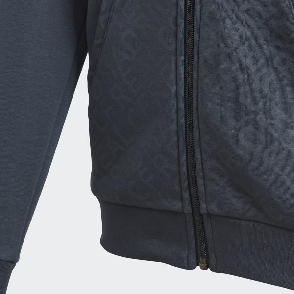 Veste adidas real madrid grise