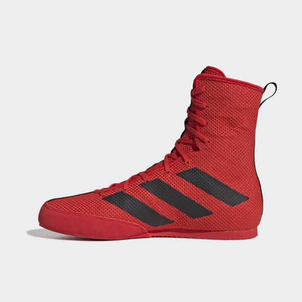 adidas Box Hog 3 chaussures de boxe rouge homme taille 46