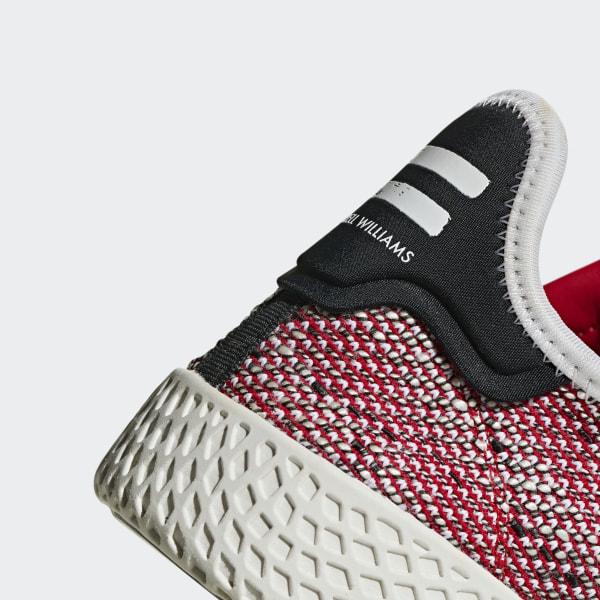 adidas Pharrell Williams SOLARHU Tennis V2 Shoes Red | adidas US