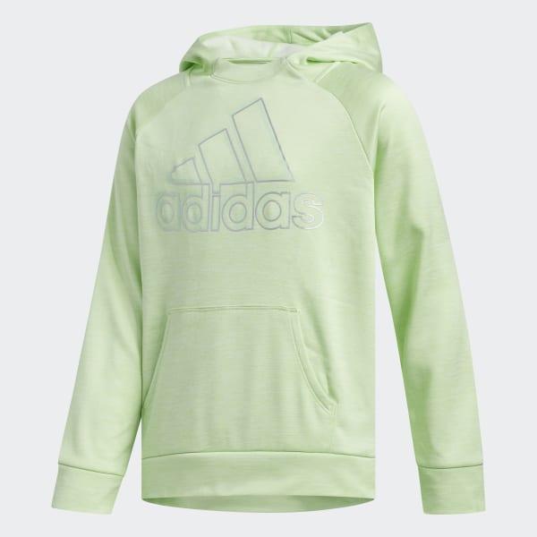 adidas fleece green
