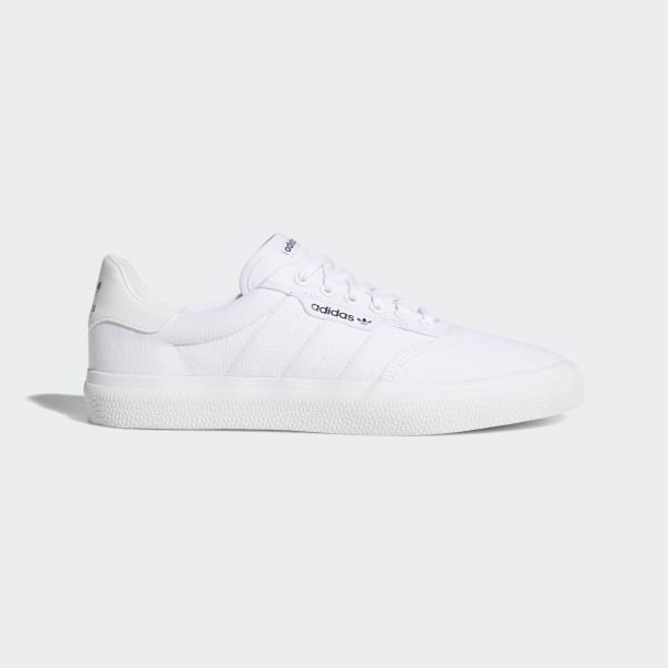 adidas 3MC Vulc Shoes Bialy | adidas Poland