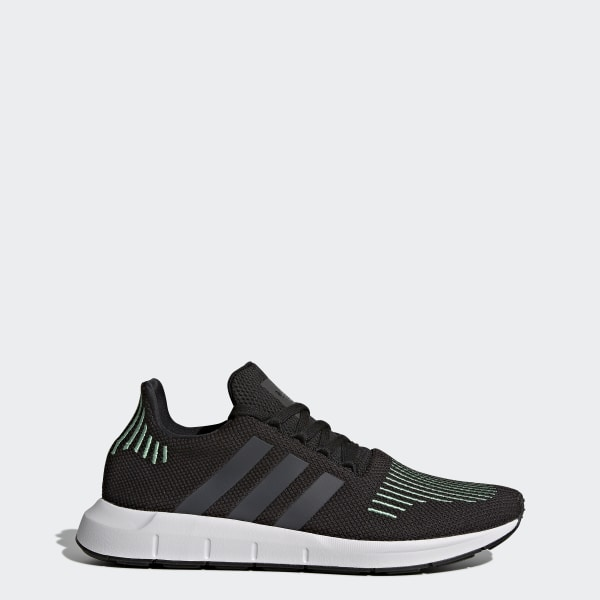 2018 adidas Originals Zapatillas de deporte negras Swift Run