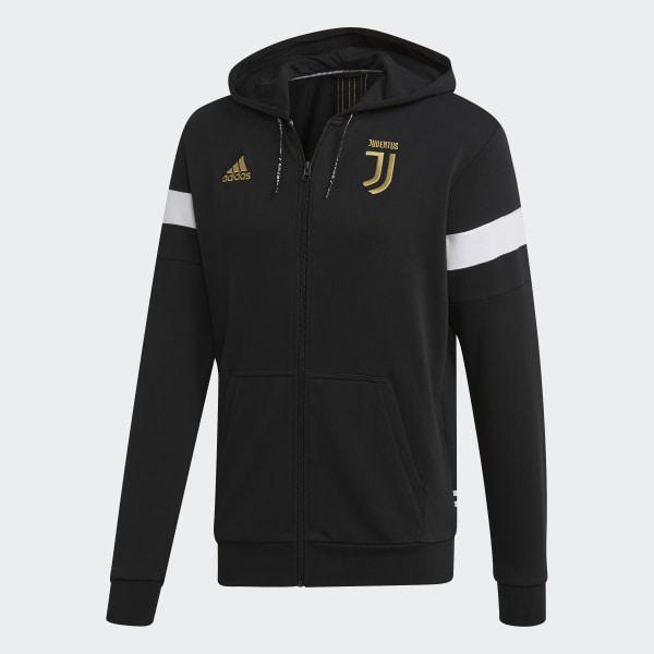 hot sale on wholesale more photos adidas Juventus Hoodie - Black | adidas US