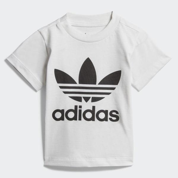 T shirt Trefoil Bianco adidas   adidas Italia